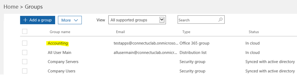 Office 365 Groups & My Apps Panel: A New Twist to an Old Problem